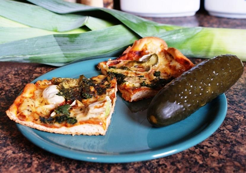 Sposób na: pyszny wegetariański obiad – pizza bez mięsa!