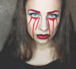 makijaż halloween