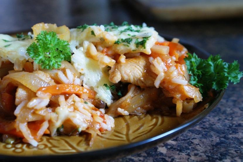 Kurczak z ryżem – przepis na chińszczyznę