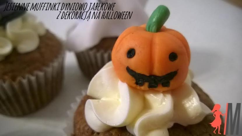 Przepis na muffinki dyniowo jabłkowe – dekoracje na halloween