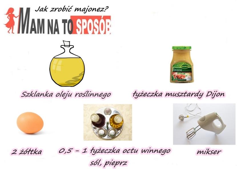 Jak zrobić majonez – przepis