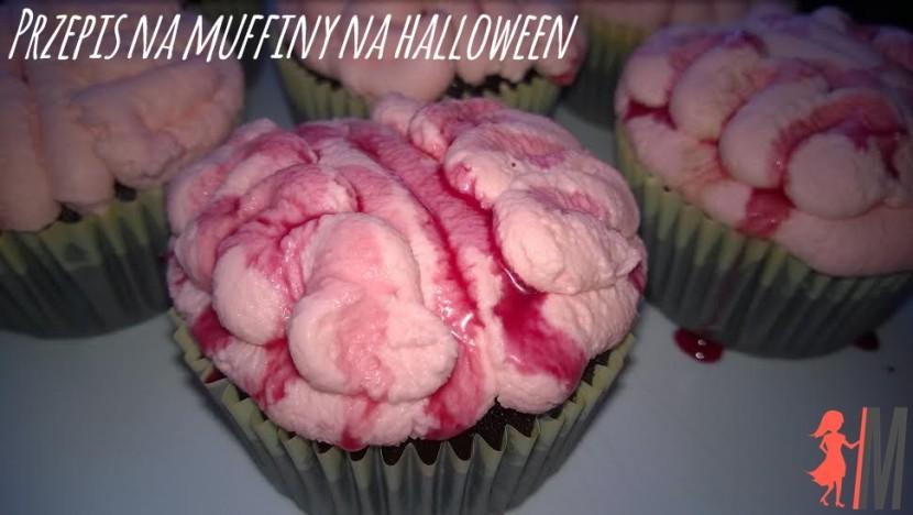 Przepis na muffiny na halloween – straszne babeczki