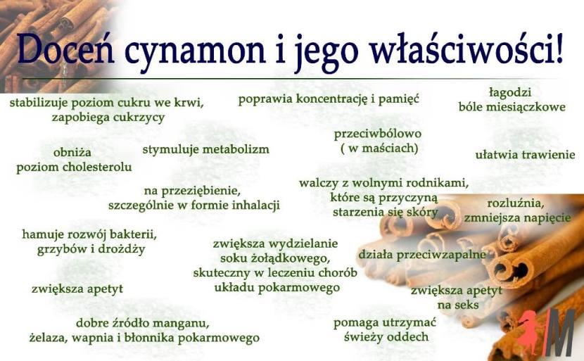 Doceń cynamon i jego wyjątkowe właściwości!