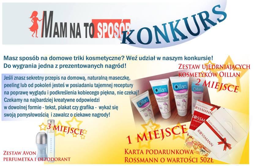 Domowe sposoby i triki kosmetyczne + KONKURS