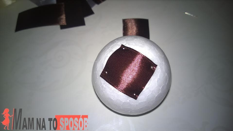 bombka ze wstążek 2