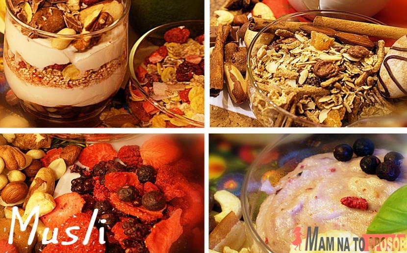 Przepis na zdrowe śniadanie – Musli Mixit