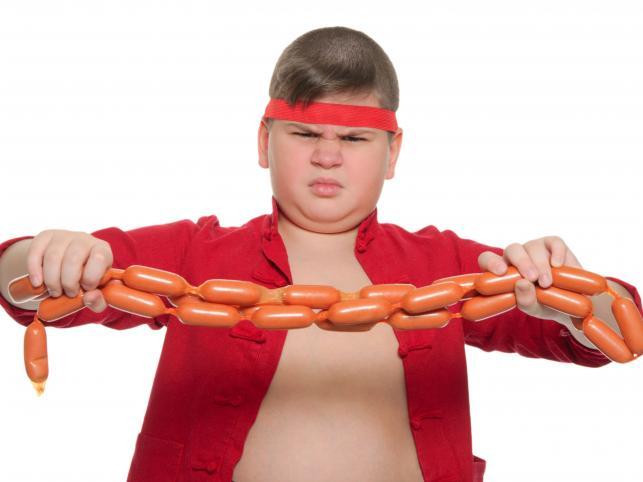 otyłe dzieci