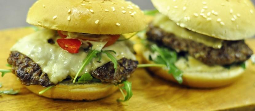 Pyszne burgery wołowe przepis