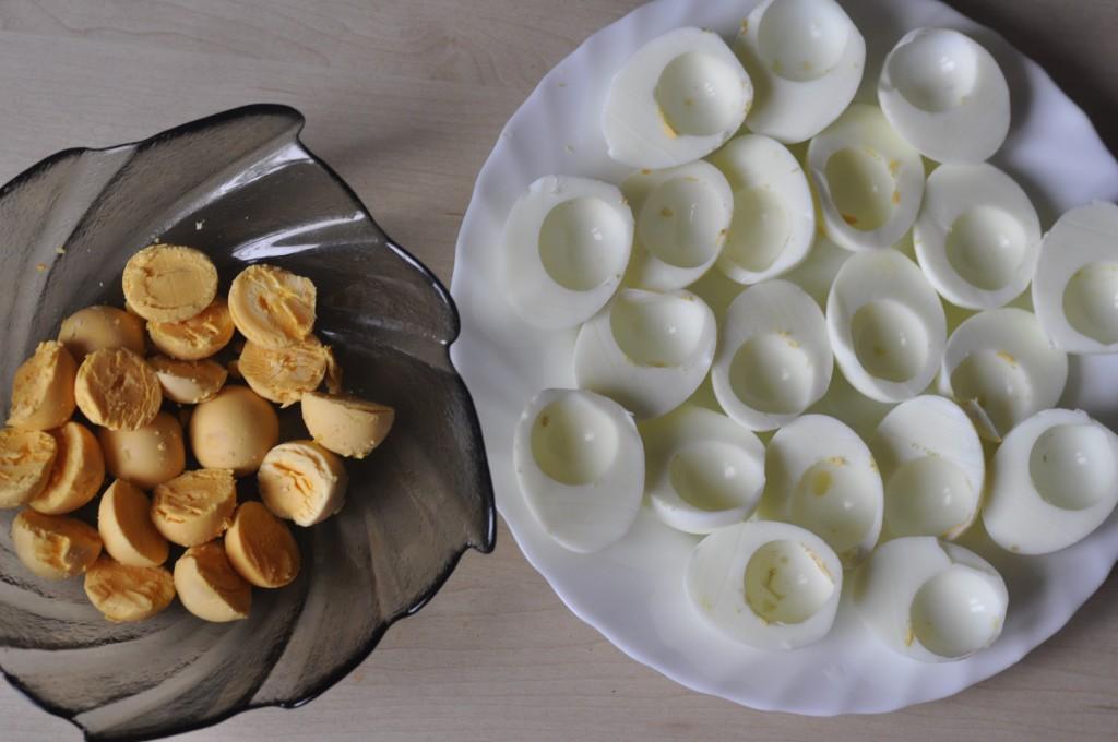 jajka faszerowane wielkanocne