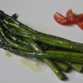 szparagi w sosie