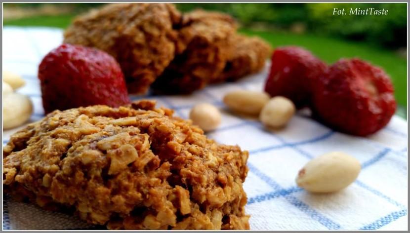 Przepis na dietetyczne ciasteczka owsiane