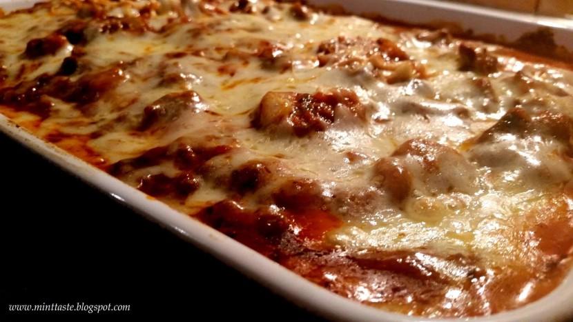 Przepis na lasagne z mięsem mielonym