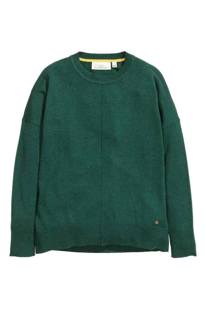 tani sweter z wełny
