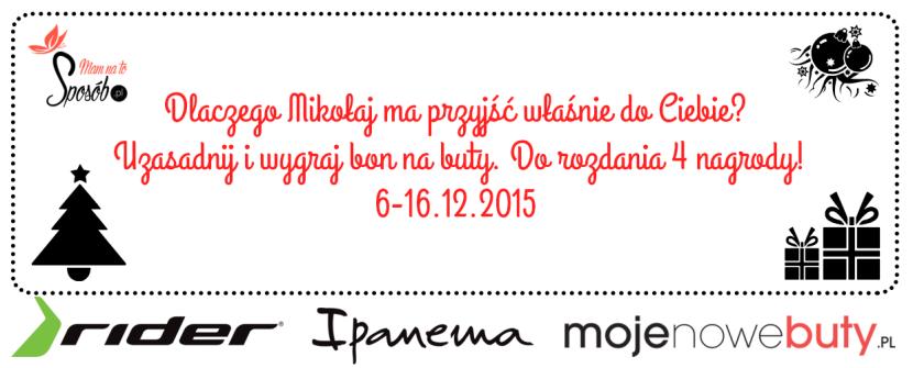 Konkurs Mikołajkowy – Wygraj bon na buty!