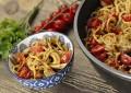 Przepis na szybki obiad - makaron z suszonymi pomidorami
